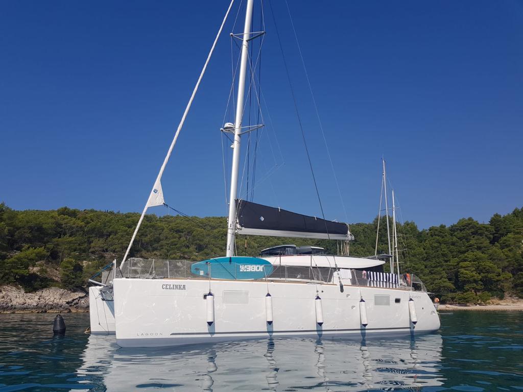 Lagoon 450 S built 2018 - Yacht Charter Croatia and many
